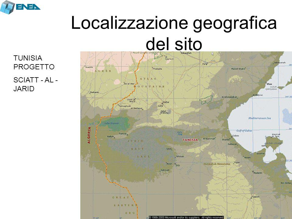 Localizzazione geografica del sito