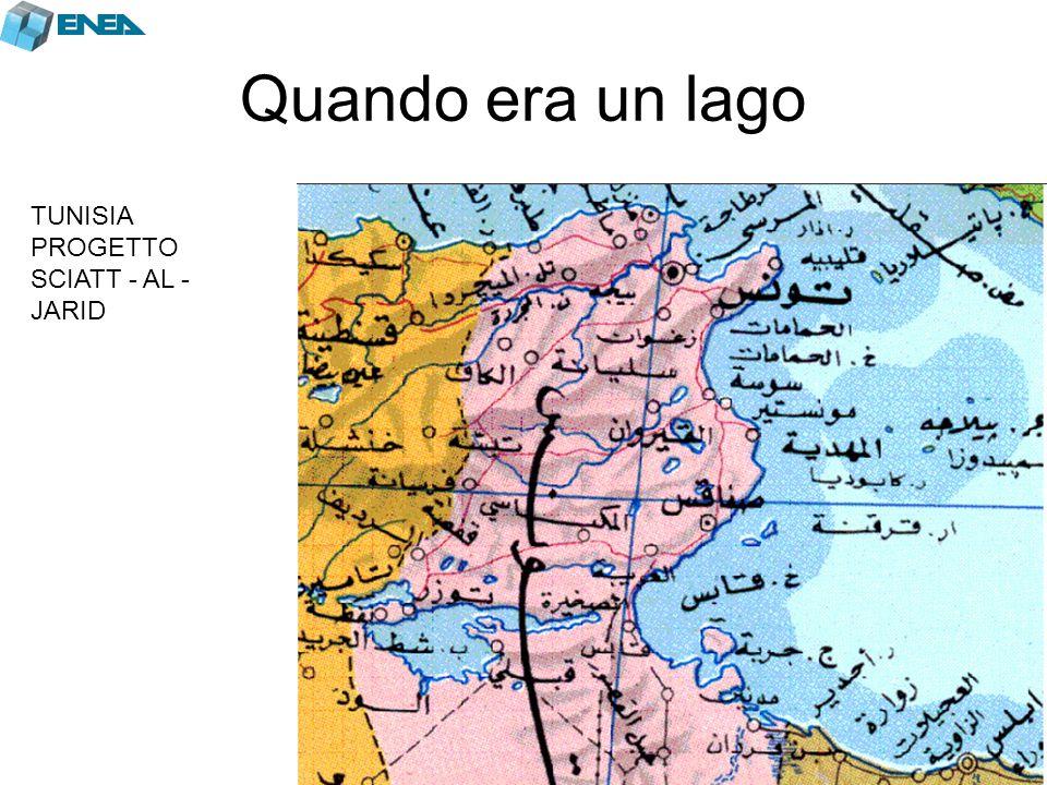 Quando era un lago TUNISIA PROGETTO SCIATT - AL -JARID