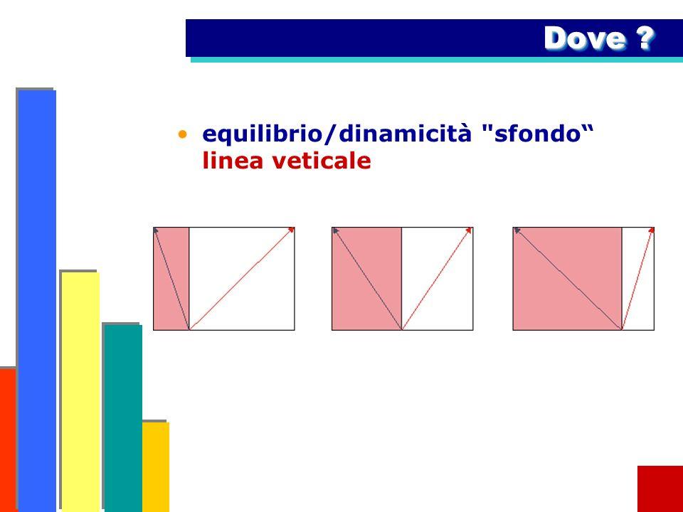 Dove equilibrio/dinamicità sfondo linea veticale