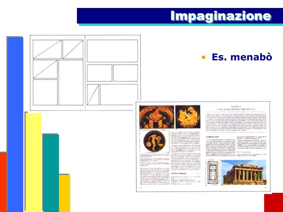 Impaginazione Es. menabò
