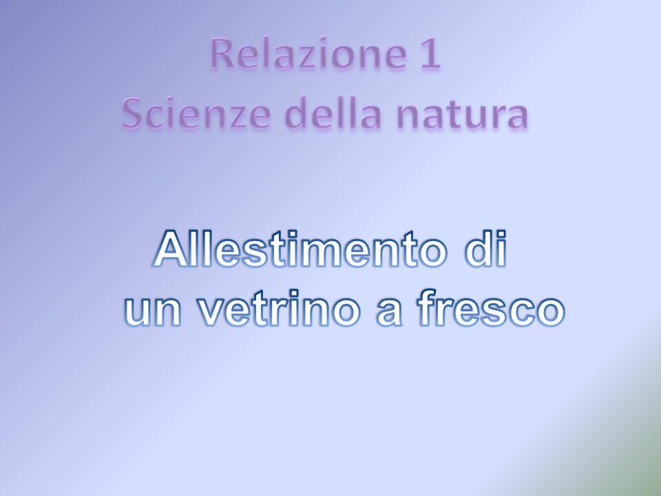 Relazione 1 Scienze della natura Allestimento di un vetrino a fresco