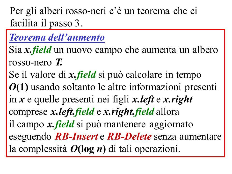 Per gli alberi rosso-neri c'è un teorema che ci facilita il passo 3.