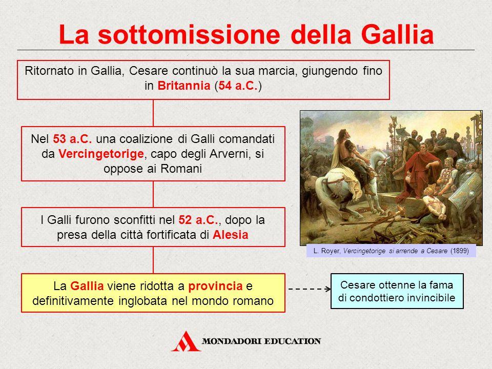 La sottomissione della Gallia