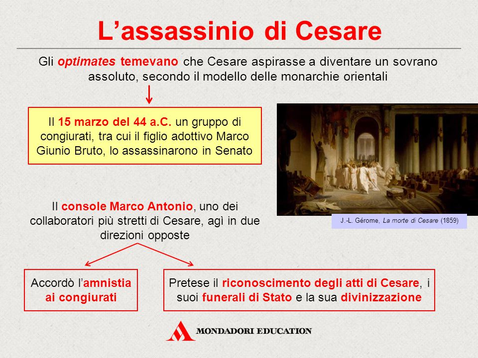 L'assassinio di Cesare
