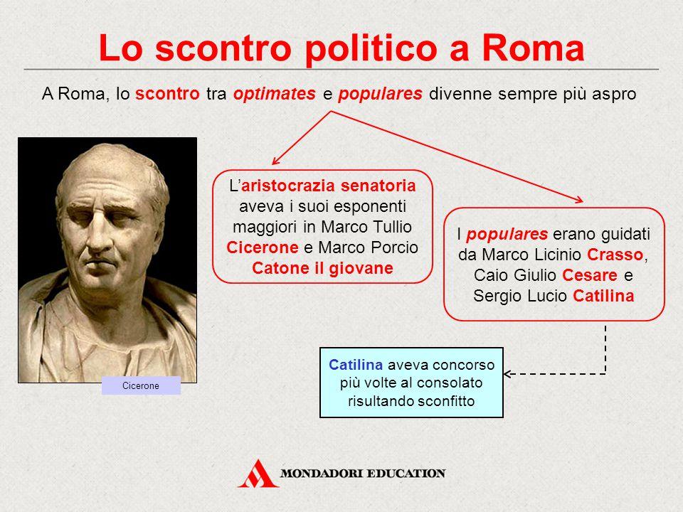 Lo scontro politico a Roma