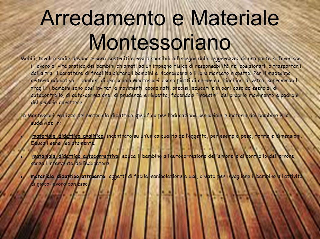 Arredamento e Materiale Montessoriano