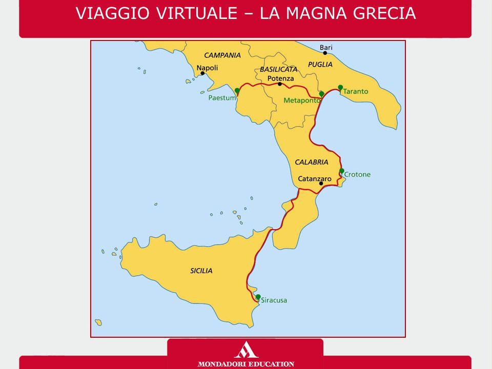 VIAGGIO VIRTUALE – LA MAGNA GRECIA