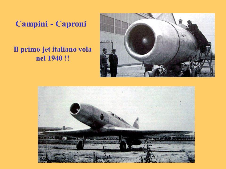 Il primo jet italiano vola nel 1940 !!