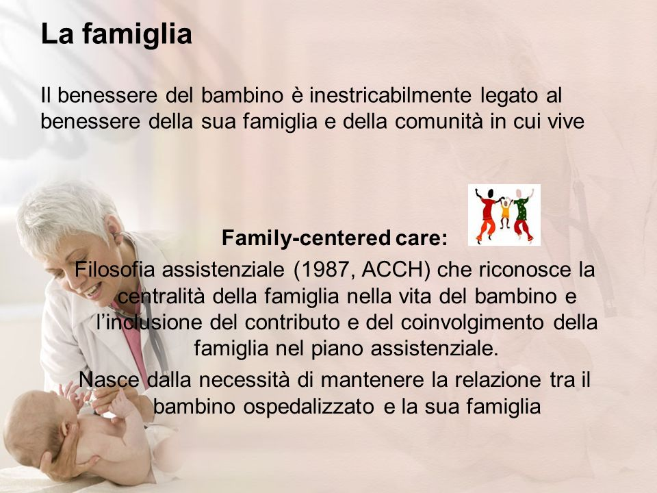 Family-centered care: