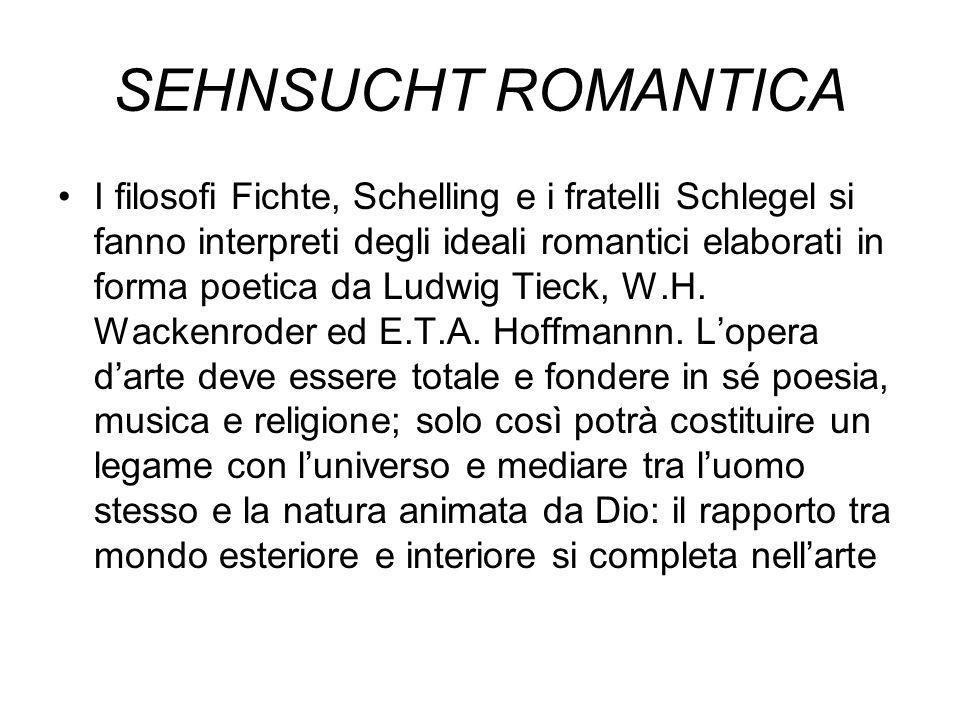SEHNSUCHT ROMANTICA