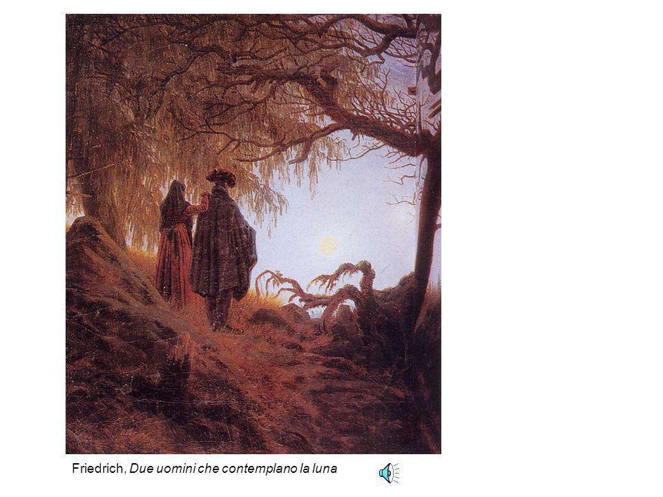Friedrich, Due uomini che contemplano la luna