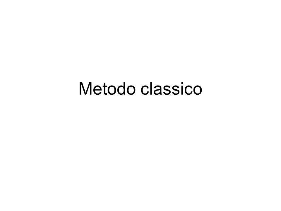 Metodo classico