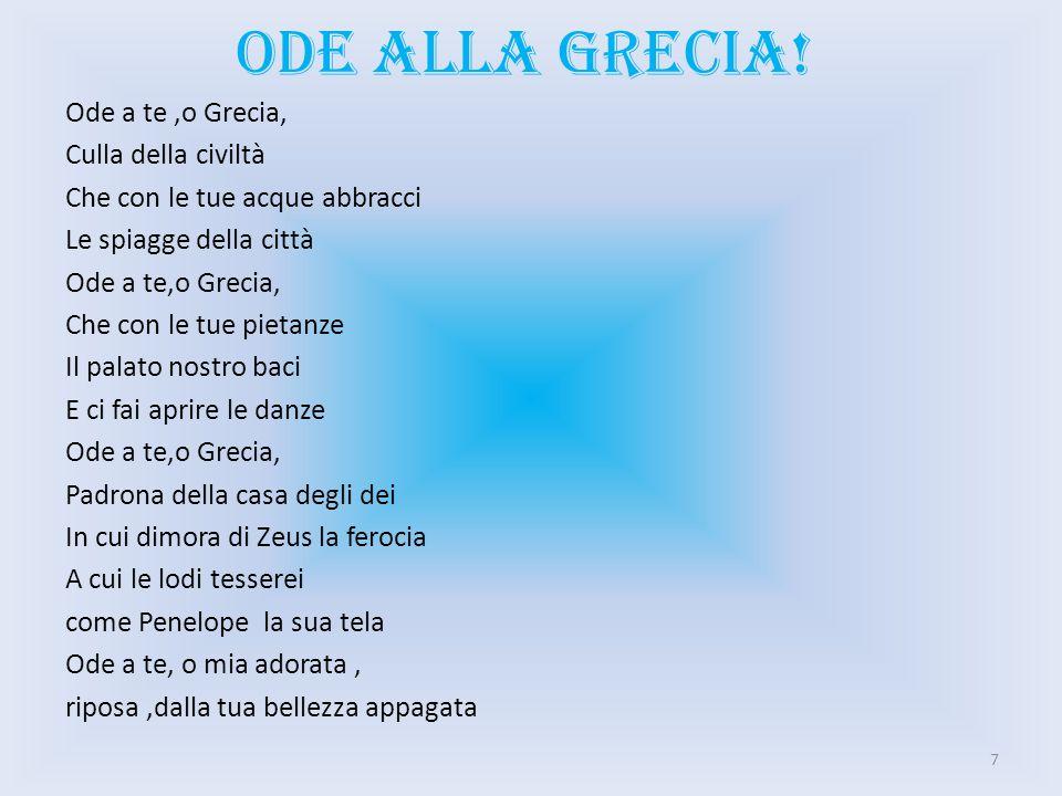 Ode alla grecia!
