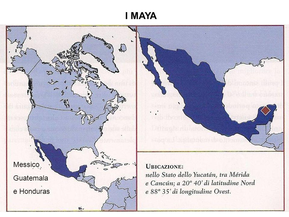 I MAYA Messico Guatemala e Honduras