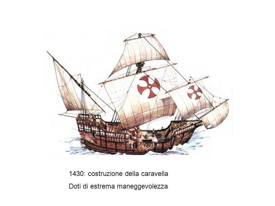1430: costruzione della caravella