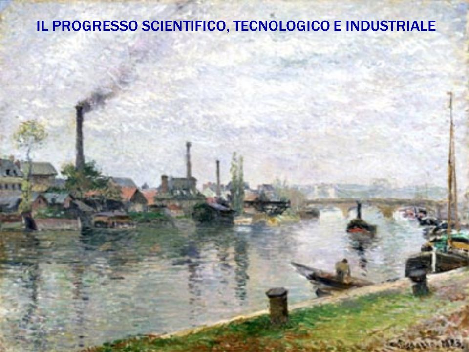 IL PROGRESSO SCIENTIFICO, TECNOLOGICO E INDUSTRIALE
