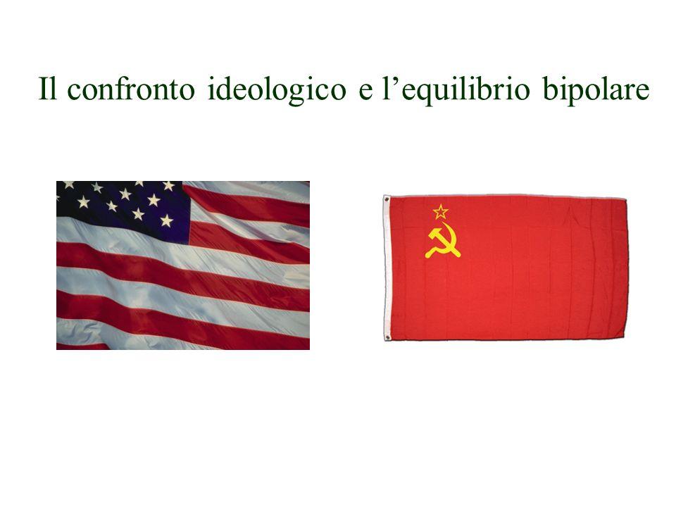 Il confronto ideologico e l'equilibrio bipolare