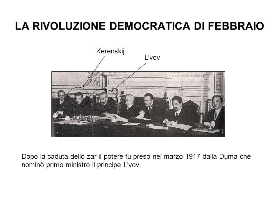 LA RIVOLUZIONE DEMOCRATICA DI FEBBRAIO