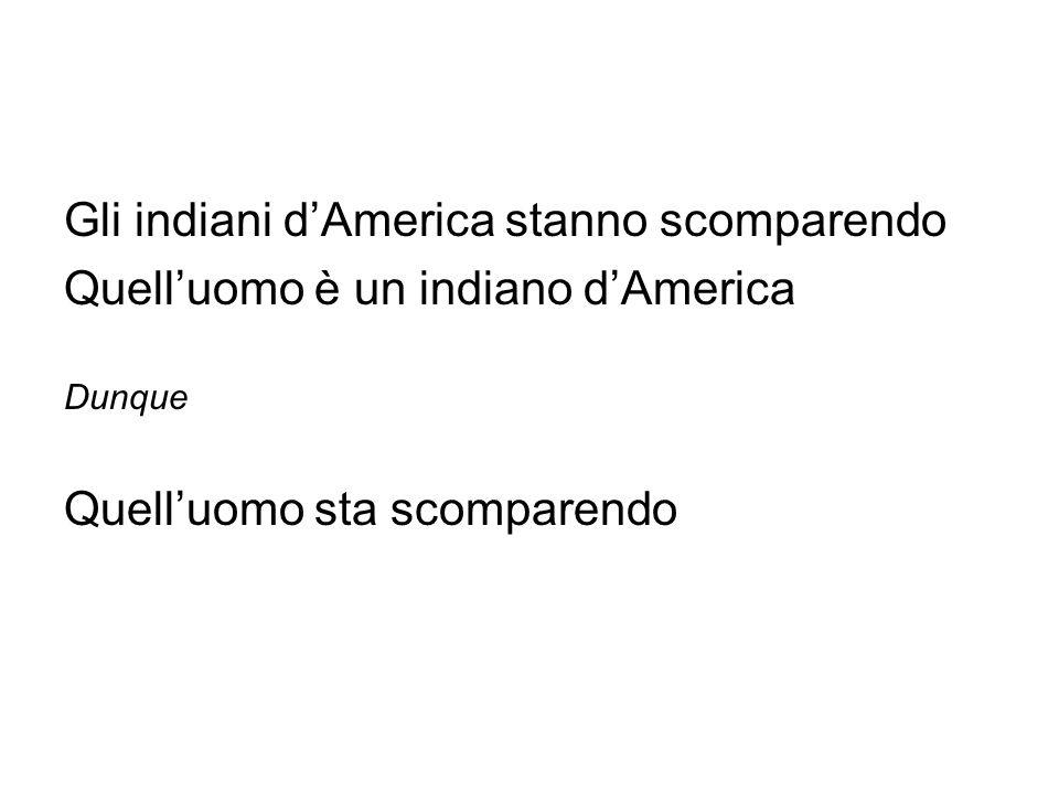 Gli indiani d'America stanno scomparendo