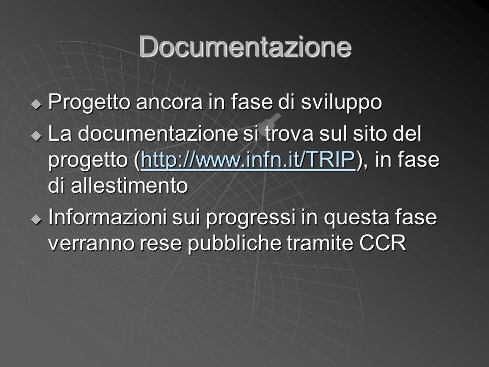 Documentazione Progetto ancora in fase di sviluppo