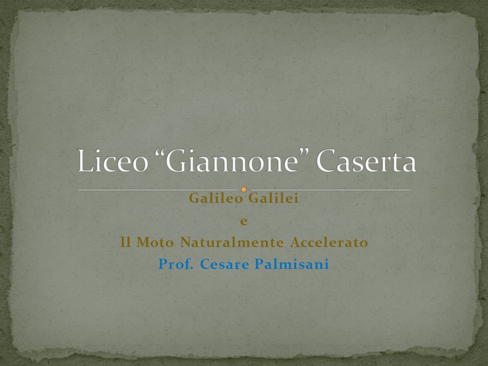 Liceo Giannone Caserta