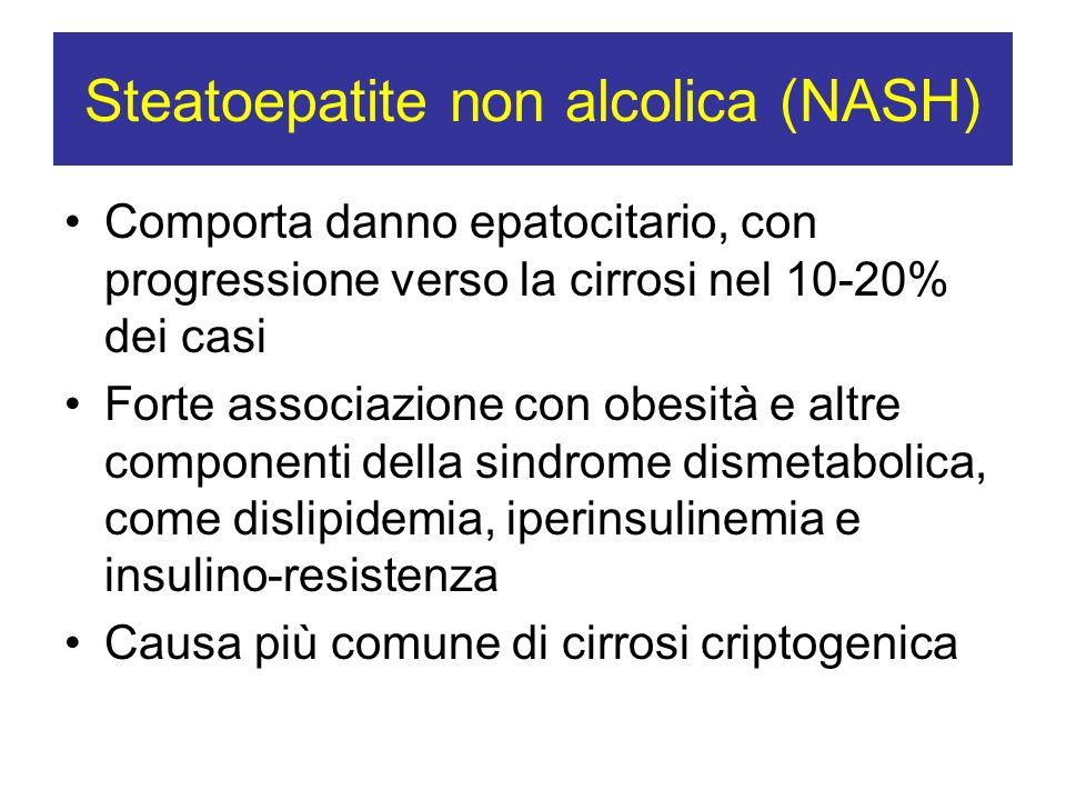 Steatoepatite non alcolica (NASH)