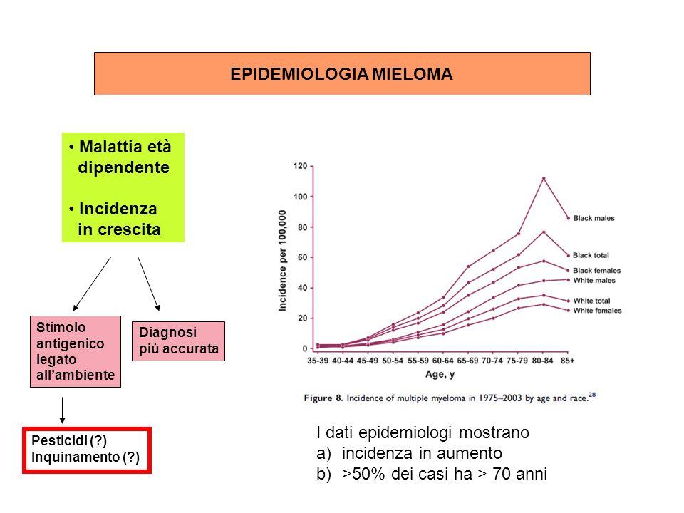 EPIDEMIOLOGIA MIELOMA