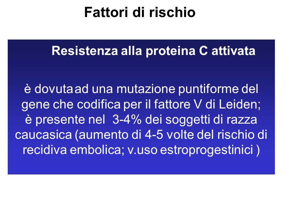 Resistenza alla proteina C attivata