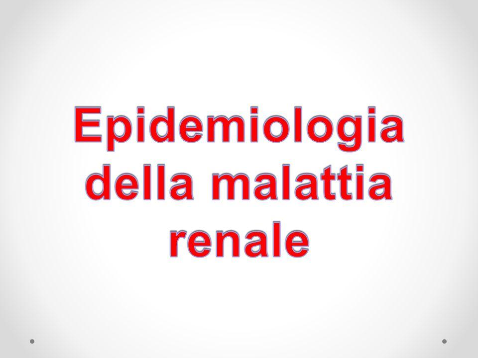 Epidemiologia della malattia renale