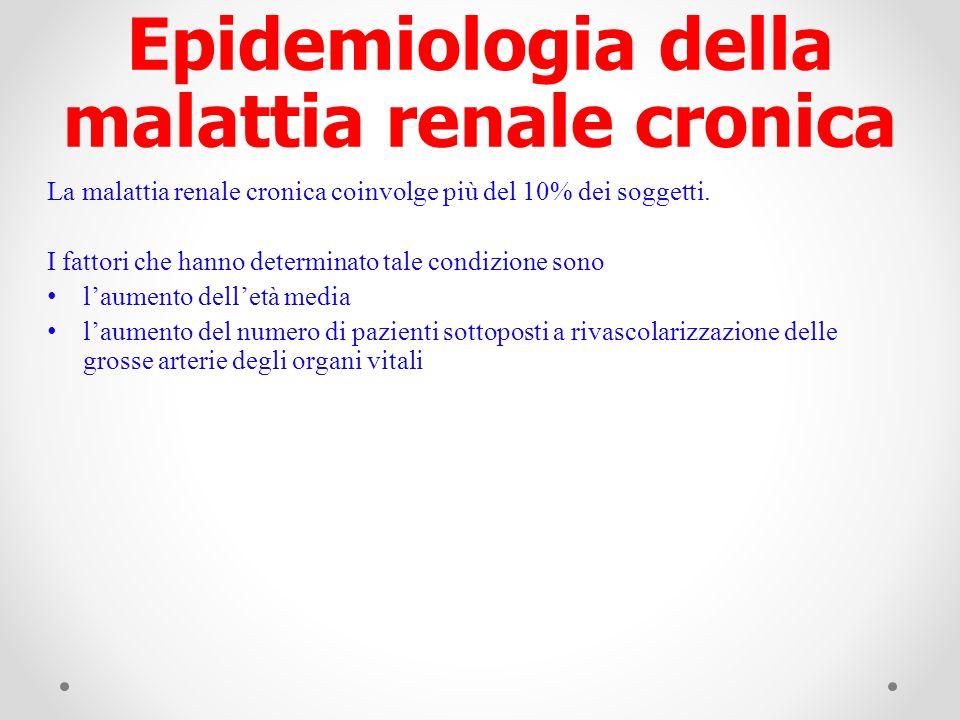 Epidemiologia della malattia renale cronica