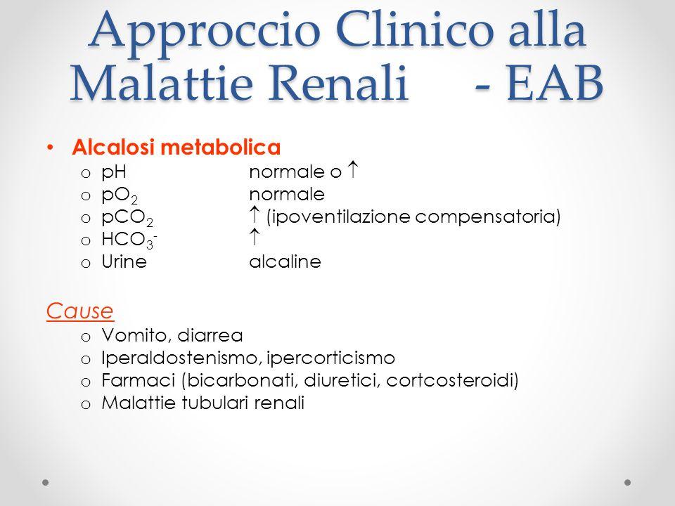 Approccio Clinico alla Malattie Renali - EAB