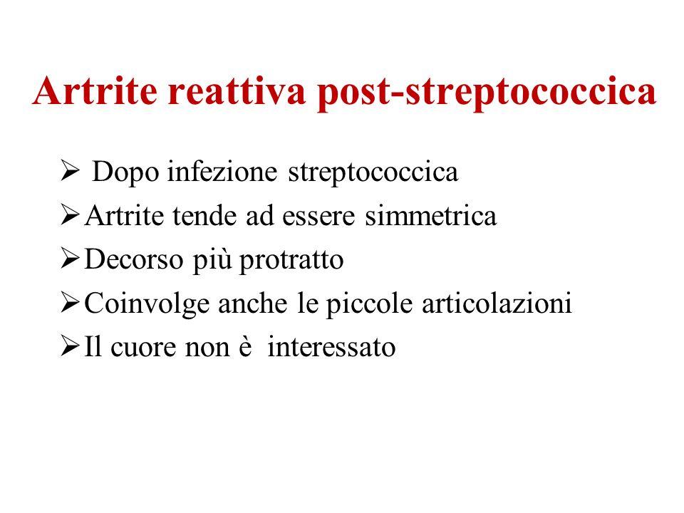 Artrite reattiva post-streptococcica
