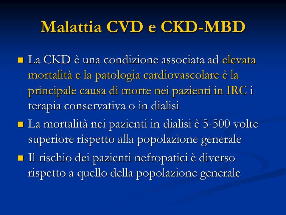 Malattia CVD e CKD-MBD