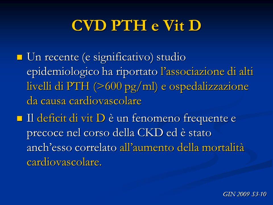 CVD PTH e Vit D