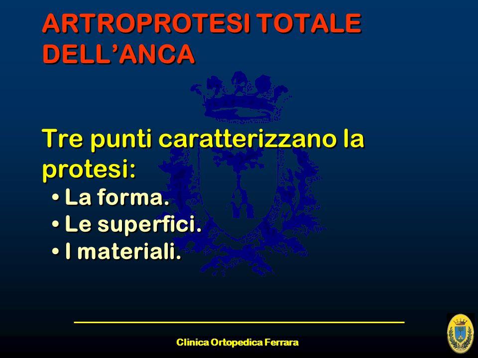 ARTROPROTESI TOTALE DELL'ANCA
