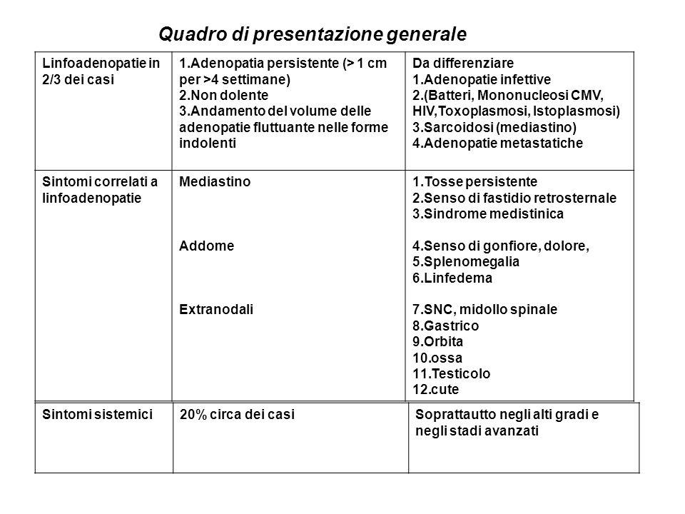 Quadro di presentazione generale