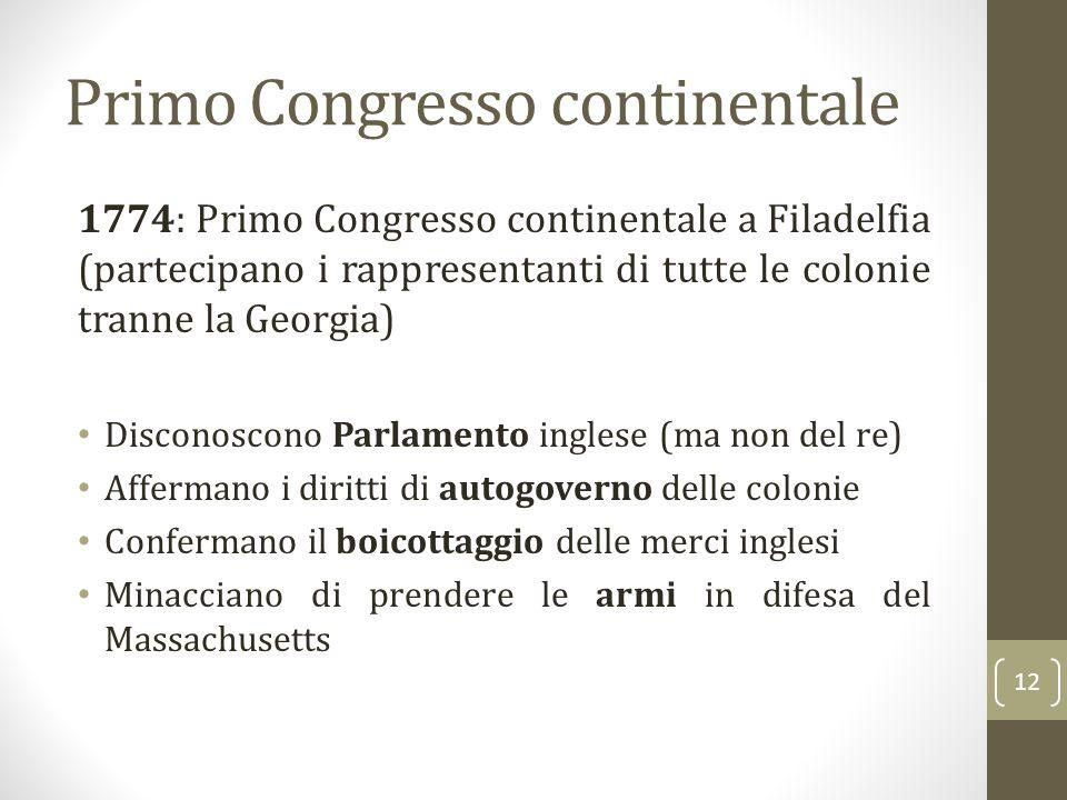 Primo Congresso continentale