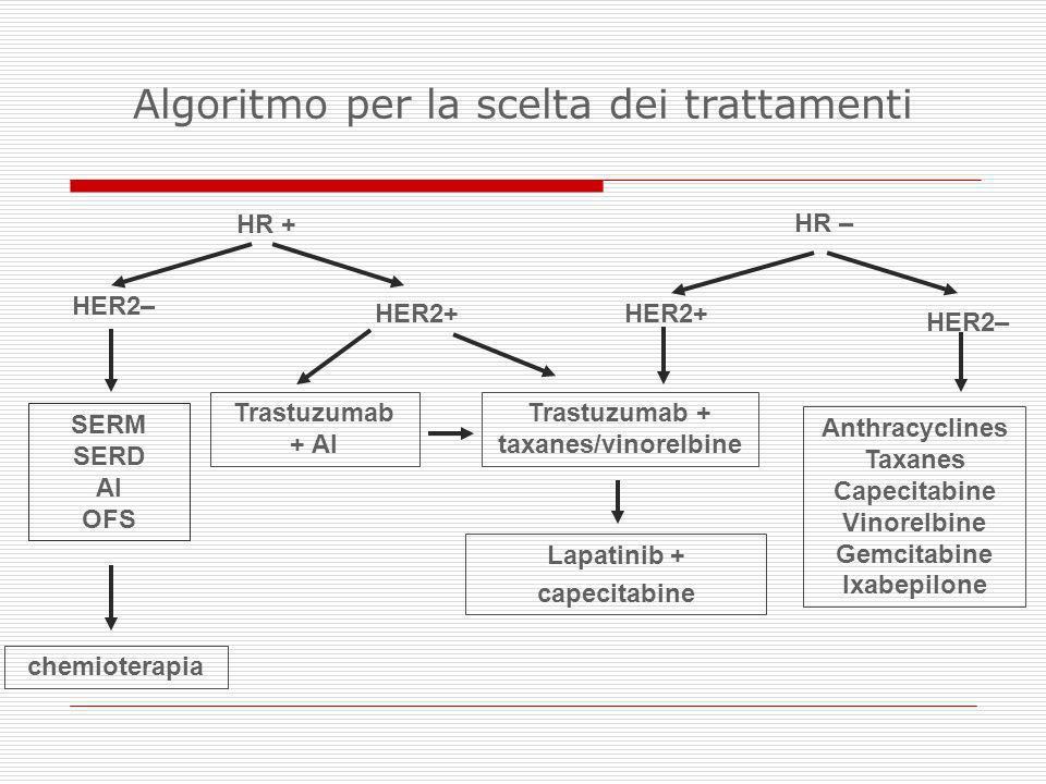 Trastuzumab + taxanes/vinorelbine