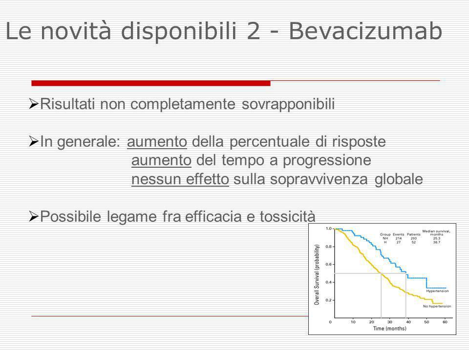 Le novità disponibili 2 - Bevacizumab