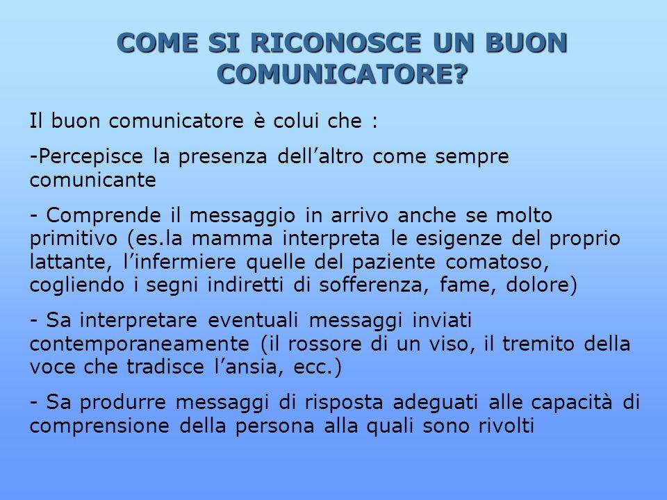 COME SI RICONOSCE UN BUON COMUNICATORE