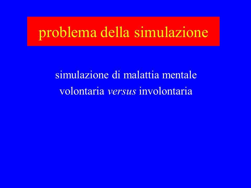 problema della simulazione