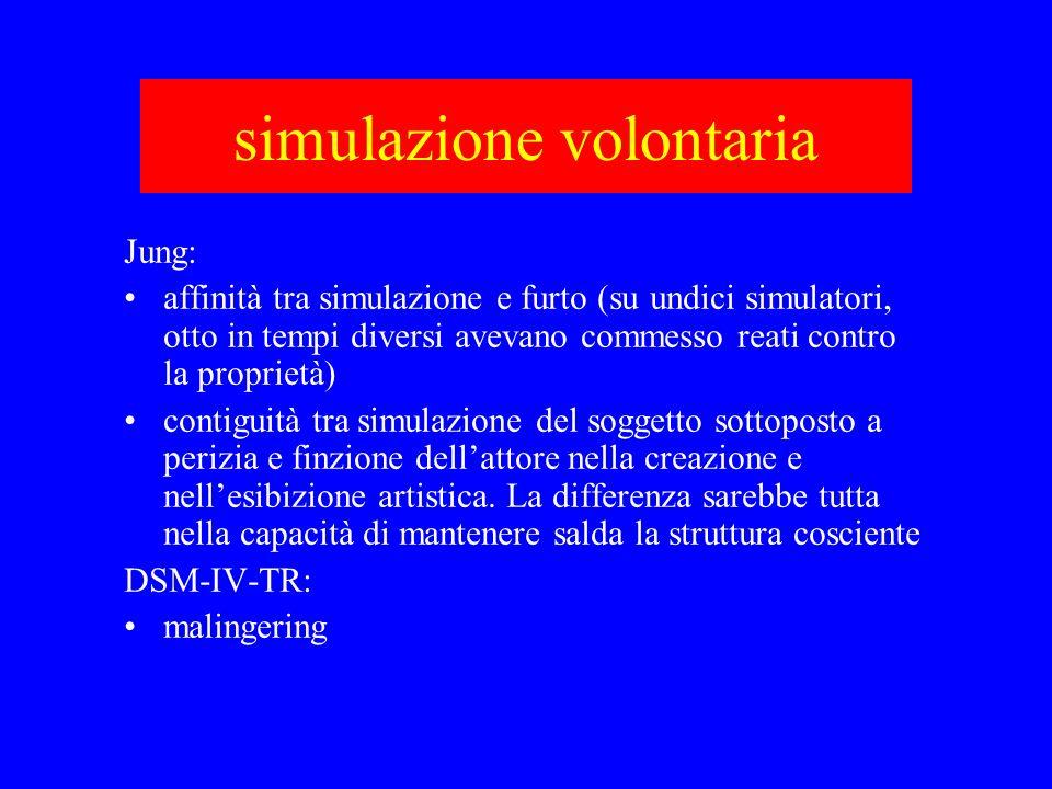 simulazione volontaria