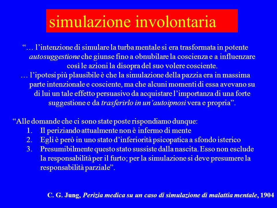 simulazione involontaria