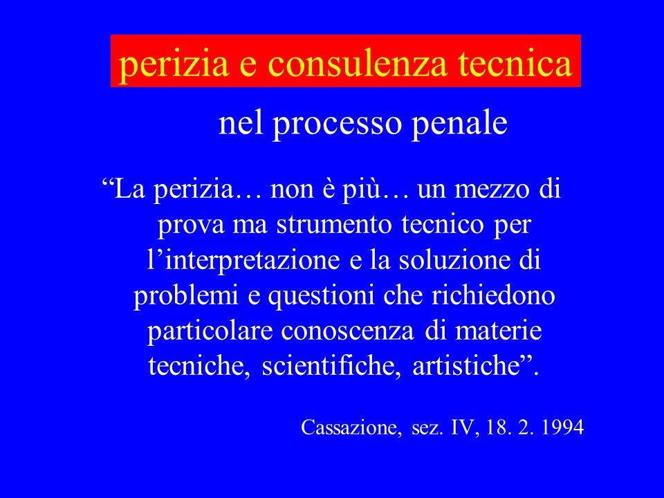 perizia e consulenza tecnica