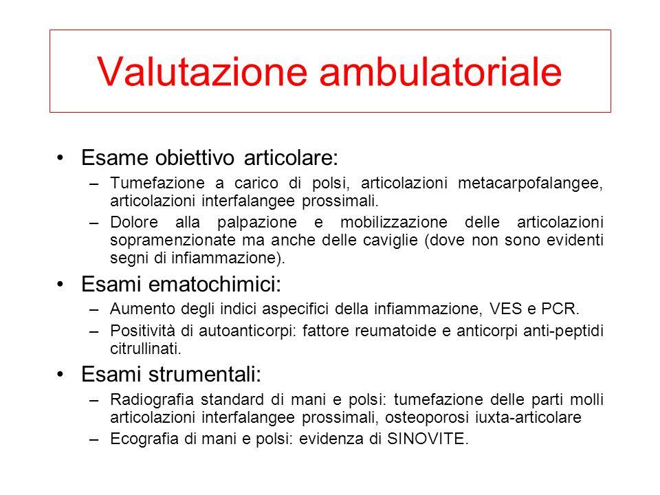 Valutazione ambulatoriale