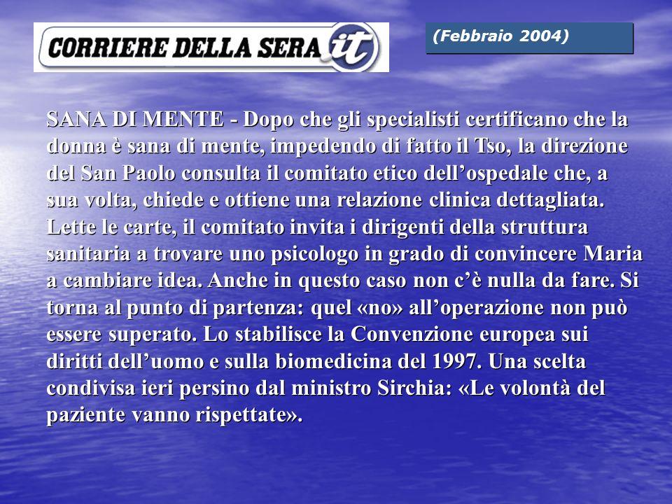 (Febbraio 2004)