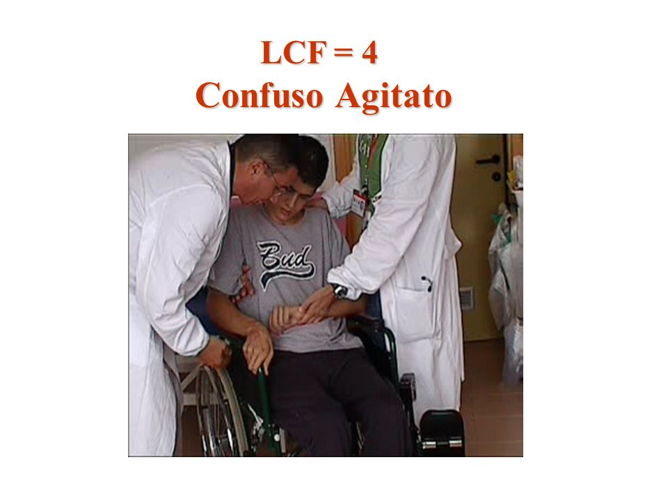 LCF = 4 Confuso Agitato