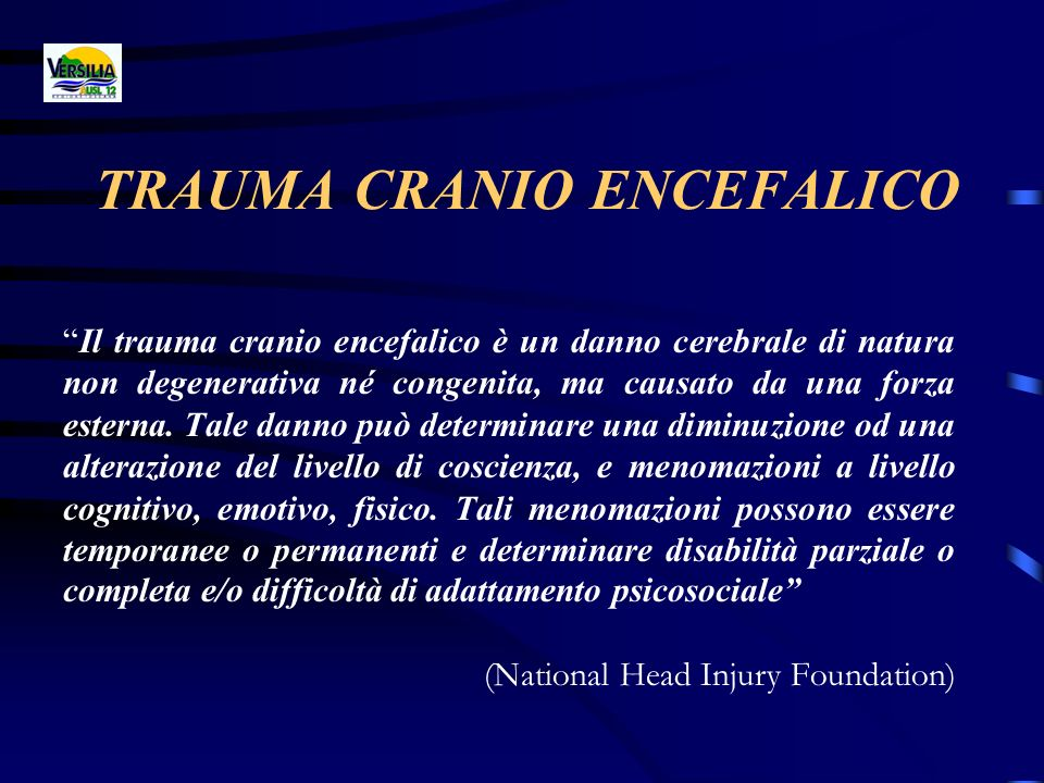 TRAUMA CRANIO ENCEFALICO
