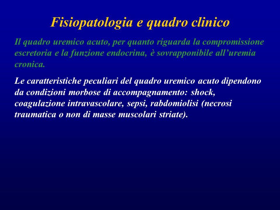 Fisiopatologia e quadro clinico