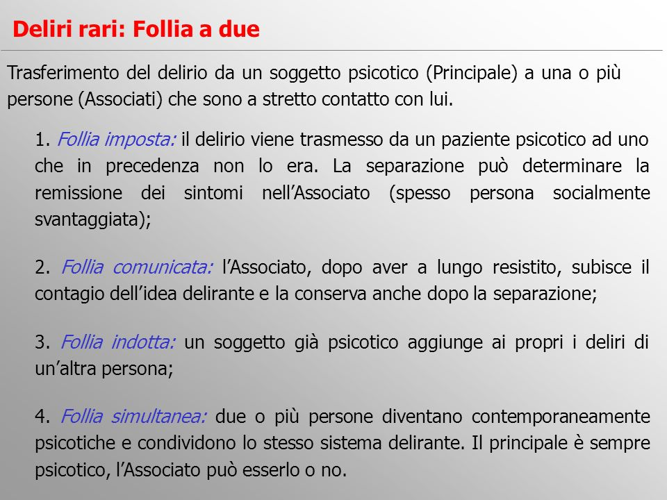 Deliri rari: Follia a due